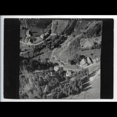 ZZ-2514/ Kreuztal b. Elbingerode Foto seltenes Luftbild 1939 18 x 13 cm