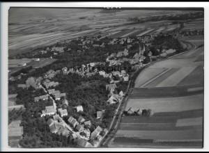 ZZ-2454/ Drübeck Foto seltenes Luftbild 1938 18 x 13 cm