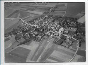 ZZ-2455/ Wedringen b. Haldensleben Foto seltenes Luftbild 1938 18 x 13 cm
