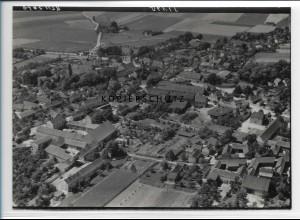 ZZ-2457/ Ummendorf Börde Foto seltenes Luftbild 1939 18 x 13 cm