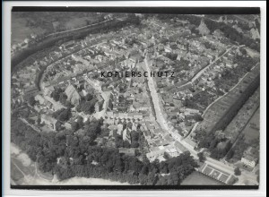ZZ-2507/ Gardelegen Foto seltenes Luftbild 1938 18 x 13 cm