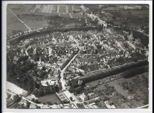 ZZ-2504/ Gardelegen Foto seltenes Luftbild 1938 18 x 13 cm