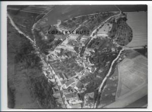 ZZ-2501/ Branderoda Foto seltenes Luftbild 1938 18 x 13 cm