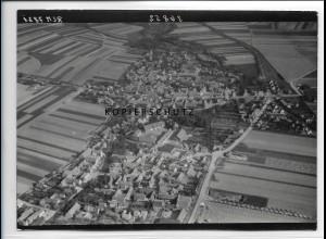 ZZ-2605/ Berga in Thür. Foto seltenes Luftbild 1939 18 x 13 cm