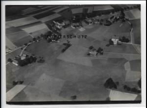 ZZ-2711/ Günsdorf bei Zwönitz Foto seltenes Luftbild 1939 18 x 13 cm