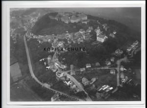 ZZ-2714/ Augustusburg Foto seltenes Luftbild 1939 18 x 13 cm