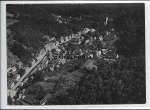ZZ-2719/ Tharandt Foto seltenes Luftbild 1939 18 x 13 cm