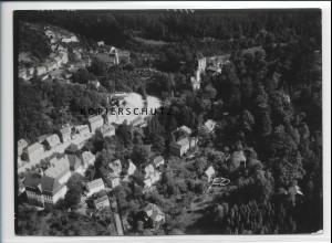 ZZ-2720/ Tharandt Foto seltenes Luftbild 1939 18 x 13 cm