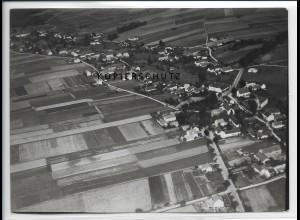 ZZ-2723/ Neukirch b. Königsbrück Foto seltenes Luftbild 1937 18 x 13 cm