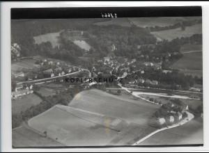 ZZ-2724/ Hermsdorf Foto seltenes Luftbild 1937 18 x 13 cm