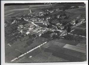 ZZ-2725/ Salzenforst b. Bautzen Foto seltenes Luftbild 1937 18 x 13 cm