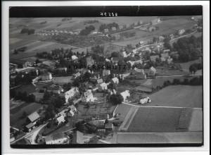 ZZ-2729/ Erbisdorf Sachsen Foto seltenes Luftbild 1937 18 x 13 cm