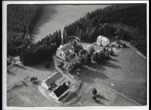 ZZ-3891/ Hauptbrunn bei Beerheide Foto seltenes Luftbild 1936 18 x 13 cm