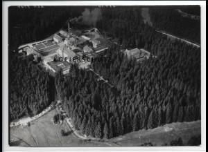 ZZ-2732/ Carolagrün b. Auerbach Foto seltenes Luftbild 1939 18 x 13 cm