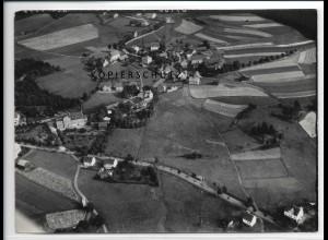 ZZ-2733/ Vogelsgrün b. Auerbach Foto seltenes Luftbild 1939 18 x 13 cm