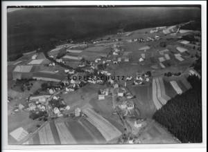 ZZ-2734/ Schnarrtanne b. Auerbach Foto seltenes Luftbild 1939 18 x 13 cm