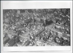 ZZ-2736/ Chemnitz Altstadt Foto seltenes Luftbild ca.1938 18 x 13 cm