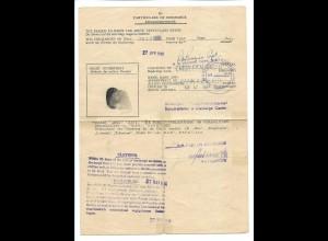 C4230/ Entlassungsschein Kriegsgefangenschaft 1946
