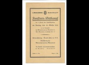 C4002/ Kunstturn-Wettkampf 2. Kreis Teltow Havelbezirk Berlin-Mariendorf 1933