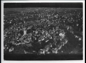 ZZ-5467/ Oberursel seltenes Foto Luftbild 18 x 13 cm ca.1935