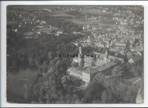 ZZ-2910/ Homburg v.d.H. Foto seltenes Luftbild ca.1935 18 x 13 cm