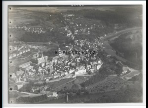 ZZ-2919/ Weilburg a.d. Lahn Foto seltenes Luftbild ca.1938 18 x 13 cm