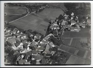 ZZ-2530/ Eschenau b. Runkel Foto seltenes Luftbild 1937 18 x 13 cm