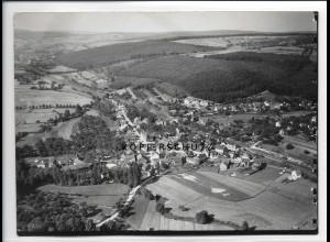 ZZ-5517/ Zell bei Bd König seltenes Foto Luftbild 18 x 13 cm ca.1935