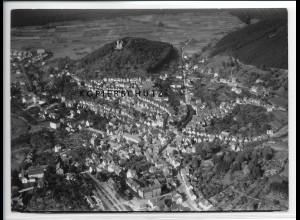 ZZ-2538/ Biedenkopf Foto seltenes Luftbild 1937 18 x 13 cm