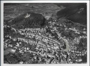 ZZ-2539/ Biedenkopf Foto seltenes Luftbild 1937 18 x 13 cm