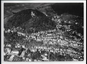 ZZ-2540/ Biedenkopf Foto seltenes Luftbild 1938 18 x 13 cm