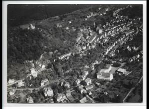 ZZ-2541/ Biedenkopf Foto seltenes Luftbild 1938 18 x 13 cm