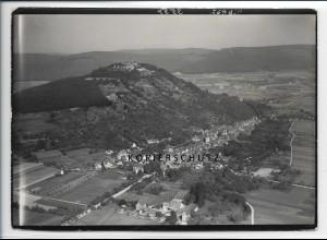ZZ-2545/ Sandbach b. Breuberg Foto seltenes Luftbild 1936 18 x 13 cm