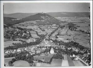 ZZ-2544/ Sandbach b. Breuberg Foto seltenes Luftbild 1936 18 x 13 cm