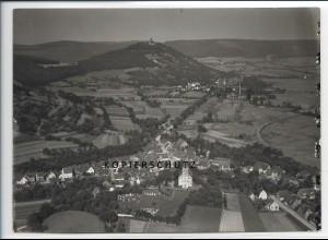 ZZ-2542/ Sandbach b. Breuberg Foto seltenes Luftbild 1936 18 x 13 cm