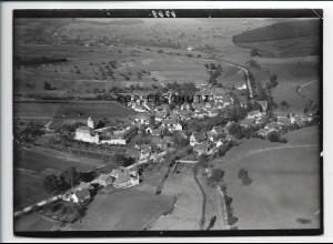 ZZ-2546/ Ernsthofen Modautal Foto seltenes Luftbild ca.1938 18 x 13 cm
