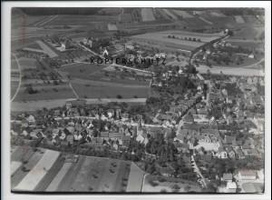 ZZ-2909/ Nieder-Ramstadt b. Darmstadt Foto seltenes Luftbild 1937 18 x 13 cm