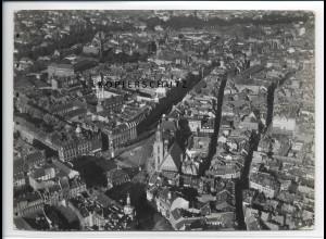 ZZ-2840/ Frankfurt M. Foto seltenes Luftbild 1937 18 x 13 cm