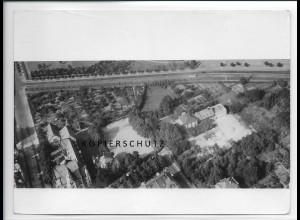 ZZ-4028/ Frankfurt IG-Farben Verwaltungsgebäude Foto Luftbild 1939 18 x 13 cm