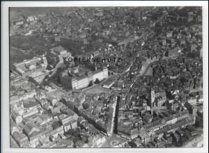 ZZ-2839/ Darmstadt Foto seltenes Luftbild 1934 18 x 13 cm