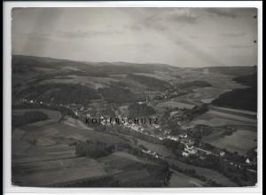 ZZ-2907/ Waldmichelbach Foto seltenes Luftbild 1935 18 x 13 cm