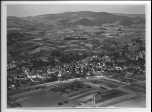 ZZ-2906/ Fürth Odenwald Foto seltenes Luftbild 1935 18 x 13 cm