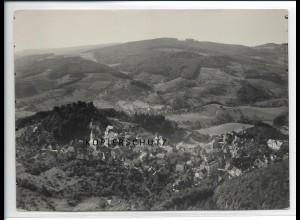 ZZ-2904/ Lindenfels Foto seltenes Luftbild 1935 18 x 13 cm