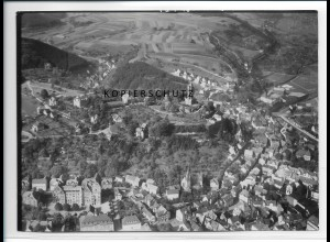 ZZ-2737/ Dillenburg Foto seltenes Luftbild ca.1938 18 x 13 cm