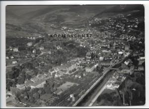 ZZ-2738/ Dillenburg Foto seltenes Luftbild 1938 18 x 13 cm