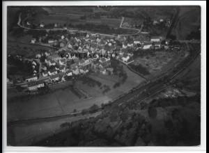 ZZ-2739/ Burg bei Dillenburg Foto seltenes Luftbild 1938 18 x 13 cm