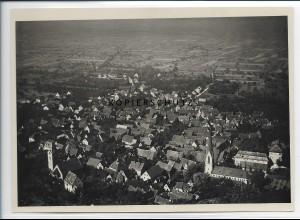 ZZ-2956/ Lautershausen b. Hirschberg Foto seltenes Luftbild ca.1938 18 x 13 cm