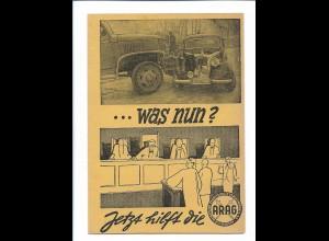 Y18228/ ARAG Versicherung mit Antwortkarte AK ca.1955