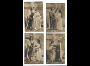 Y18223/ 11 x Foto AK LOHENGRIN R.Wagner ca.1910