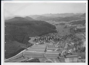 ZZ-2625/ Vorderweidenthal Foto seltenes Luftbild ca.1938 18 x 13 cm